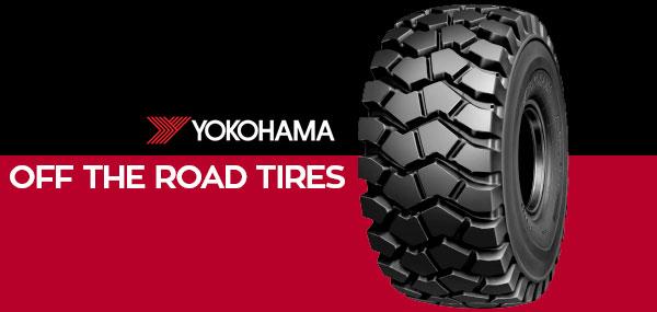 off the road tires OTR yokohama