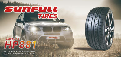 sunfull suv tires